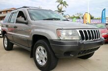1999 Jeep Grand Cherokee WJ Laredo Gold 4 Speed Automatic Wagon Greenslopes Brisbane South West Preview
