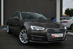 2016 Audi A4 B9 F4 MY16 Sport S tronic Brown 7 Speed Sports Automatic Dual Clutch Sedan Burwood Whitehorse Area Preview