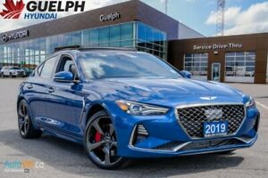 2019 Genesis G70 3.3T SportPANORAMIC ROOF   NAVIGATION   LEATHER