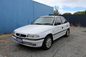 1997 Holden Astra 1.8 White Automatic Sedan Mandurah Mandurah Area Preview