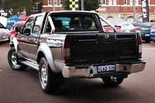 2008 Nissan Navara D22 MY2008 ST-R Black 5 Speed Manual Utility Northbridge Perth City Preview