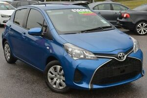 2014 Toyota Yaris NCP130R Ascent Blue 4 Speed Automatic Hatchback Phillip Woden Valley Preview
