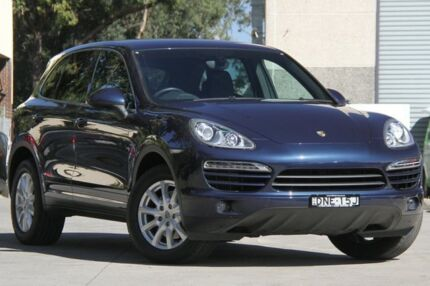 2011 Porsche Cayenne Series 2 Diesel Blue 8 Speed Automatic Tiptronic Wagon