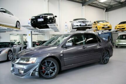 2004 Mitsubishi Lancer CZ Evolution VIII MR Grey 6 Speed Manual Sedan Beckenham Gosnells Area Preview