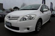 2010 Toyota Corolla ZRE152R MY10 Ascent White 4 Speed Automatic Hatchback Preston Darebin Area Preview