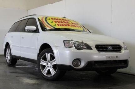 2005 Subaru Outback MY05 3.0R White 5 Speed Auto Sports Shift Wagon Underwood Logan Area Preview