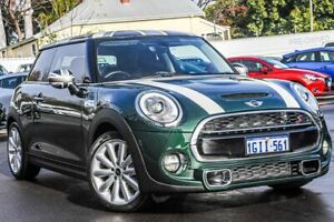 2017 Mini Hatch F56 Cooper S Green 6 Speed Sports Automatic Hatchback Bayswater Bayswater Area Preview