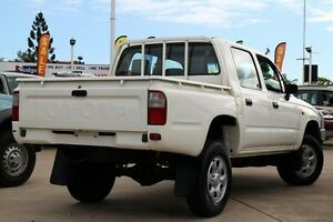 2002 Toyota Hilux RZN169R MY02 White 5 Speed Manual Utility Greenslopes Brisbane South West Preview