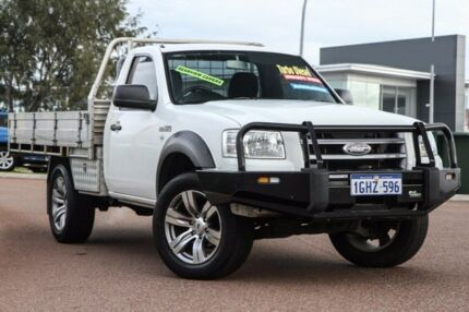 2008 Ford Ranger PJ XL White 5 Speed Manual Utility East Rockingham Rockingham Area Preview