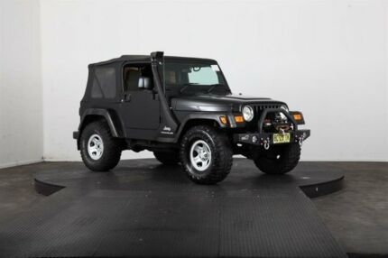 2004 Jeep Wrangler TJ Sport (4x4) Black 3 Speed Automatic 4x4 Softtop Vineyard Hawkesbury Area Preview