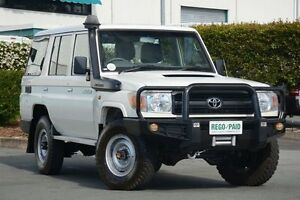 2011 Toyota Landcruiser VDJ76R MY10 Workmate White 5 Speed Manual Wagon Acacia Ridge Brisbane South West Preview