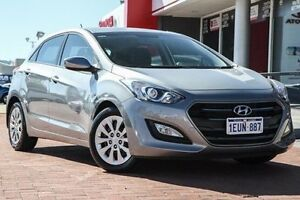 2015 Hyundai i30 GD3 Series II MY16 Active Grey 6 Speed Sports Automatic Hatchback Midland Swan Area Preview