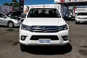 2017 Toyota Hilux GUN126R SR5 Double Cab Glacier White 6 Speed Sports Automatic Utility Osborne Park Stirling Area Preview
