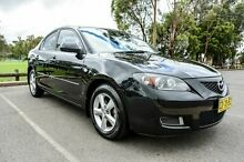 2008 Mazda 3 BK MY08 Neo Sport Black 4 Speed Auto Activematic Sedan Wetherill Park Fairfield Area Preview