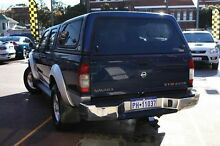 2009 Nissan Navara D22 MY2009 ST-R Blue 5 Speed Manual Utility Northbridge Perth City Preview