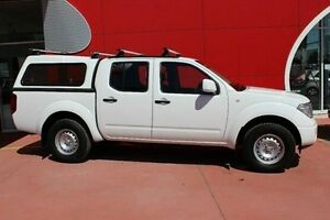 2013 Nissan Navara D40 S7 MY12 RX White 6 Speed Manual Utility Dandenong Greater Dandenong Preview