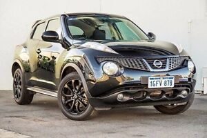 2014 Nissan Juke F15 MY14 ST 2WD MIDNIGHT Black 1 Speed Constant Variable Hatchback Myaree Melville Area Preview