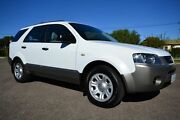 2008 Ford Territory SY MY07 Upgrade TX (RWD) White 4 Speed Auto Seq Sportshift Wagon Blair Athol Port Adelaide Area Preview