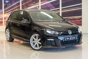 2011 Volkswagen Golf VI MY11 R 4MOTION Black 6 Speed Manual Hatchback Blacktown Blacktown Area Preview