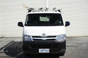 2012 Toyota Hiace KDH201R MY12 LWB White 4 Speed Automatic Van