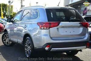 2016 Mitsubishi Outlander ZK MY16 XLS 2WD Silver 6 Speed Constant Variable Wagon Cannington Canning Area Preview