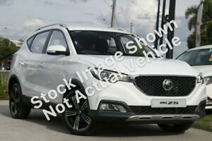2019 MG ZS AZS1 MY19 Excite Plus 2WD Dover White 6 Speed Automatic Wagon