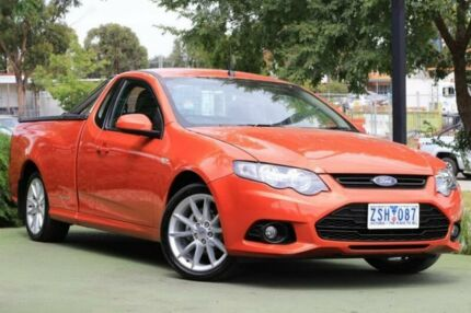 2013 Ford Falcon FG MkII XR6 Ute Super Cab EcoLPi Red 6 Speed Sports Automatic Utility
