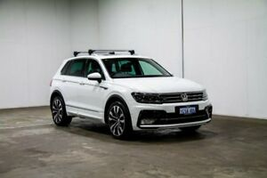 2017 Volkswagen Tiguan 5N MY17 140TDI DSG 4MOTION Highline Pure White 7 Speed Welshpool Canning Area Preview