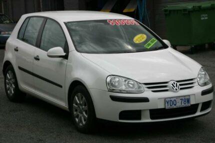2005 Volkswagen Golf 1K 2.0 TDI Comfortline White 6 Speed Manual Hatchback Fyshwick South Canberra Preview