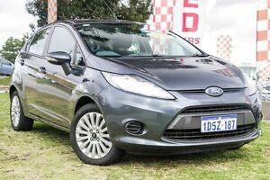 2010 Ford Fiesta WS LX Grey 5 Speed Manual Hatchback Wangara Wanneroo Area Preview