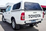 2013 Toyota Hilux KUN26R MY12 SR Double Cab White 5 Speed Manual Utility Maddington Gosnells Area Preview
