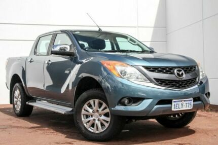2013 Mazda BT-50 UP0YF1 XTR Blue 6 Speed Sports Automatic Utility Maddington Gosnells Area Preview