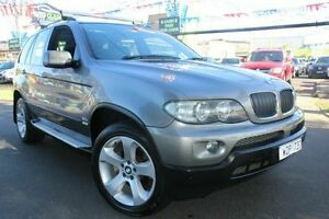 2005 BMW X5 E53 MY05 d Steptronic Grey 6 Speed Sports Automatic Wagon West Footscray Maribyrnong Area Preview