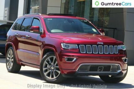 2017 Jeep Grand Cherokee WK MY18 Overland Red 8 Speed Sports Automatic Wagon