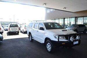 2013 Toyota Hilux KUN26R SR White Automatic Strathmore Heights Moonee Valley Preview