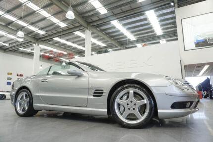 2002 Mercedes-Benz SL R230 55 AMG 5 Speed Auto Touchshift Convertible Port Melbourne Port Phillip Preview