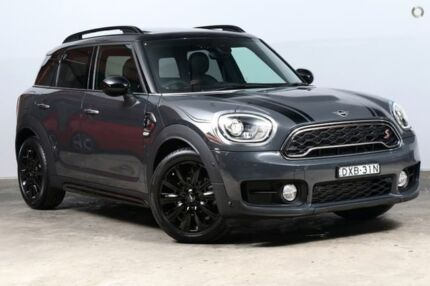 2018 Mini Countryman F60 Cooper S Steptronic Thunder Grey 8 Speed Sports Automatic Wagon Alexandria Inner Sydney Preview