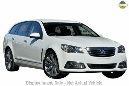 2014 Holden Calais VF MY15 V Sportwagon White 6 Speed Auto Seq Sportshift Wagon Liverpool Liverpool Area Preview