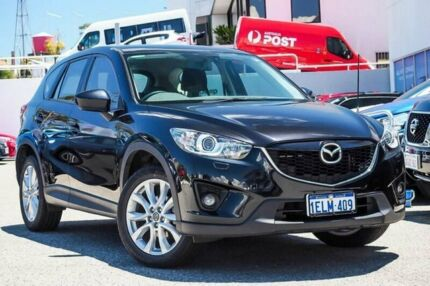 2014 Mazda CX-5 KE1031 MY14 Grand Touring SKYACTIV-Drive AWD Black 6 Speed Sports Automatic Wagon Myaree Melville Area Preview