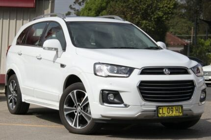 2017 Holden Captiva CG MY17 7 LTZ (AWD) White 6 Speed Automatic Wagon
