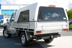 2013 Toyota Landcruiser VDJ79R MY13 GXL Silver 5 Speed Manual Cab Chassis Robina Gold Coast South Preview