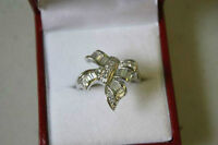 Sterling Silver Cubic Zirconia Ring SZ 8.5