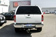 2012 Nissan Navara D40 S5 MY12 ST-X 550 White 7 Speed Sports Automatic Utility Osborne Park Stirling Area Preview