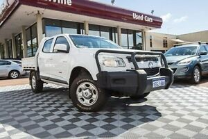 2013 Holden Colorado RG MY13 LX Crew Cab White 5 Speed Manual Utility Alfred Cove Melville Area Preview
