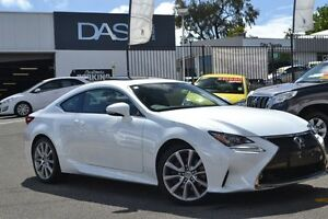 2015 Lexus RC GSC10R RC350 Sports Luxury Pearl White 8 Speed Sports Automatic Coupe Claremont Nedlands Area Preview