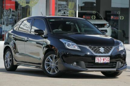 2016 Suzuki Baleno EW GLX Turbo Black 6 Speed Sports Automatic Hatchback