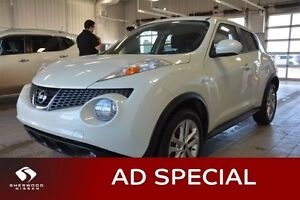 2012 Nissan JUKE SL FWD Accident Free,  Heated Seats,  Sunroof,