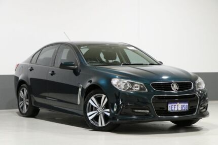 2013 Holden Commodore VF SV6 Green 6 Speed Automatic Sedan Bentley Canning Area Preview