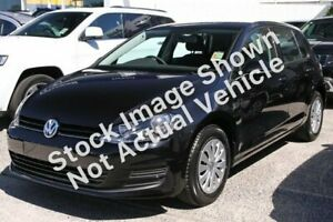 2015 Volkswagen Golf AU MY15 90 TSI Black 7 Speed Auto Direct Shift Hatchback Moonah Glenorchy Area Preview