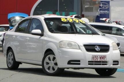 2006 Holden Barina TK MY07 White 4 Speed Automatic Sedan